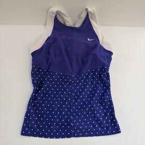 Nike Dri Fit Workout Tank Top Purple S